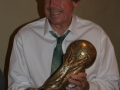 Gordon Banks with World Cup 2