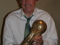 Gordon Banks with World Cup 3